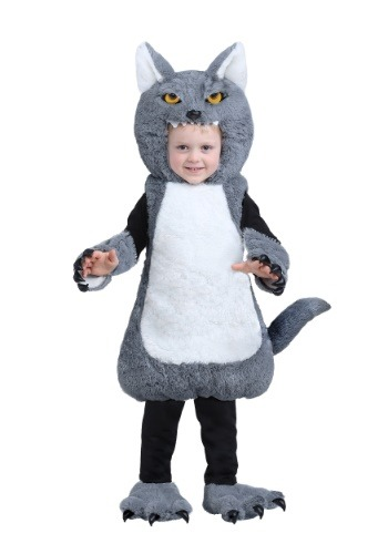 Click Here to buy Wolf Bubble Costume for Baby/Toddler from HalloweenCostumes, CDN Funds & Shipping