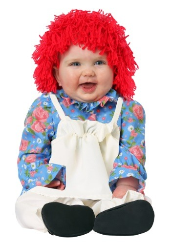 Click Here to buy Rag Doll Costume for an Baby Girl from HalloweenCostumes, CDN Funds & Shipping