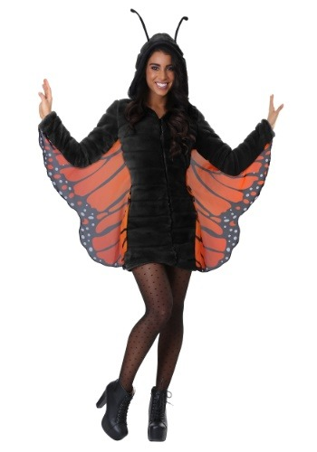 Cozy Monarch Butterfly Costume for Women
