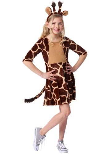 Click Here to buy Giraffe Girls Costume from HalloweenCostumes, CDN Funds & Shipping