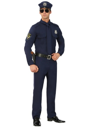 Plus Men's Cop Costume