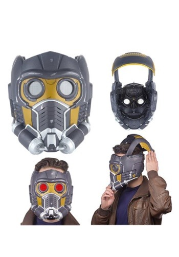 Click Here to buy Marvel Legends Star-Lord Mask from Guardians of the Galaxy from HalloweenCostumes, CDN Funds & Shipping