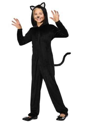 Black Cat Costume for Girls