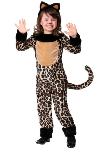 Deluxe Leopard Costume for Girls