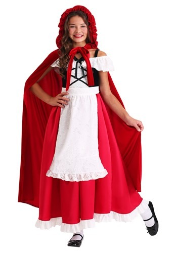 Childs Deluxe Red Riding Hood Costume