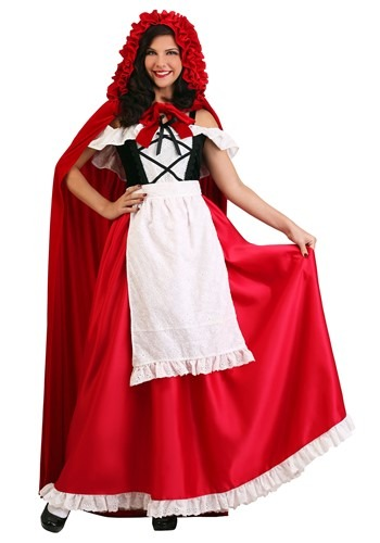 Deluxe Red Riding Hood Womens Costume