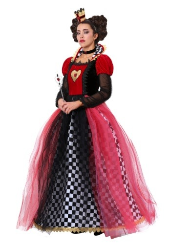 Women's Ravishing Queen of Hearts Costume