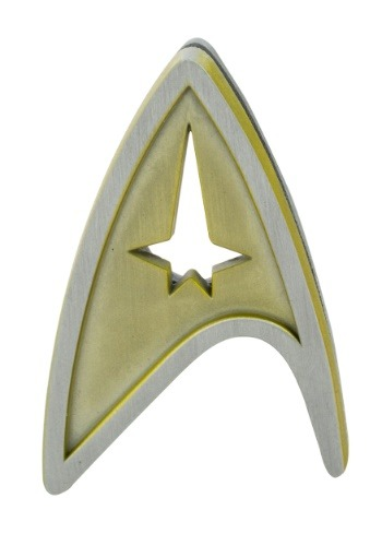 Click Here to buy Star Trek Command Insignia Badge from HalloweenCostumes, CDN Funds & Shipping
