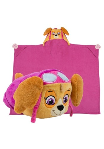 Paw Patrol Skye Comfy Critter Blanket