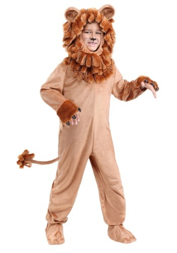 Lovable Lion Costume for a Child