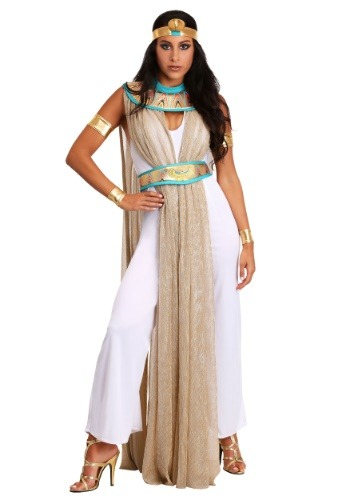 Click Here to buy Cleopatra Pantsuit for Women from HalloweenCostumes, CDN Funds & Shipping