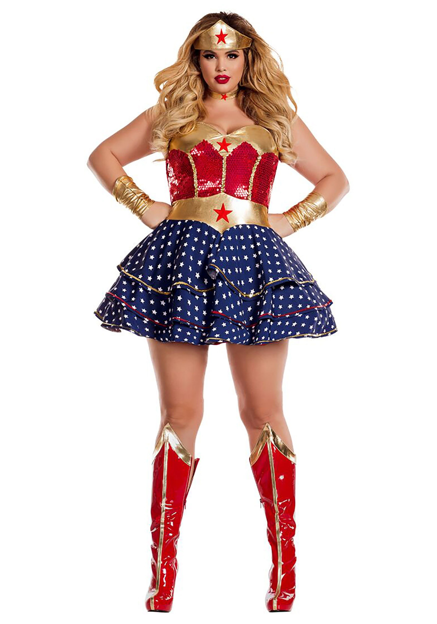 INOpets.com Anything for Pets Parents & Their Pets Wonderful Sweetheart Plus Size Costume for Women