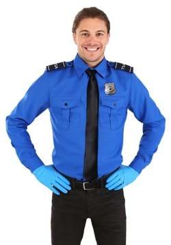 TSA Agent Blue Long sleeved Costume Shirt