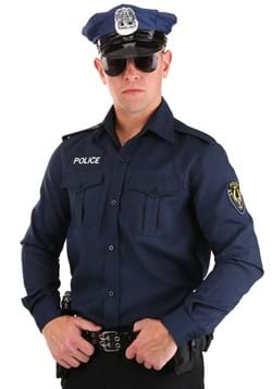 Adult Long Sleeve Police Shirt