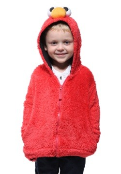 d18996be2a2 Sesame Street Elmo Faux Fur Kids Costume Hoodie