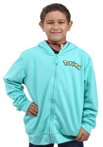 Pokemon Bulbasaur Kids Costume Hoodie