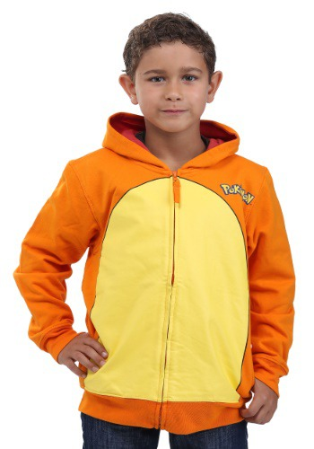 Pokemon Charmander Kids Costume Hoodie