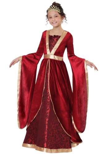 Click Here to buy Renaissance Maiden Girls Costume from HalloweenCostumes, CDN Funds & Shipping