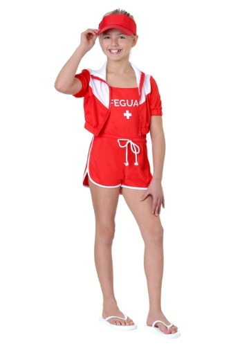 Lifeguard Costume for Girls