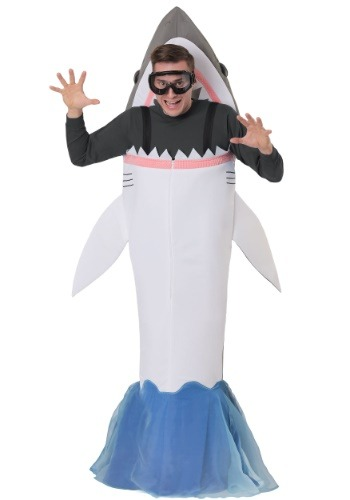Shark Attack Costume for an Adult
