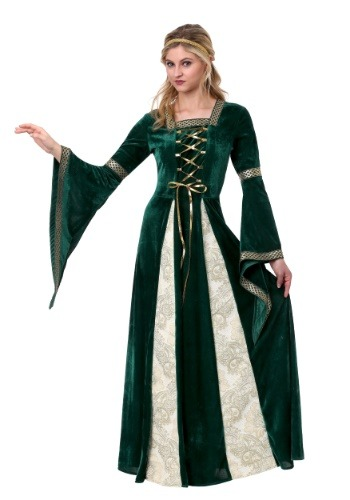 Click Here to buy Renaissance Maiden Womens Costume from HalloweenCostumes, CDN Funds & Shipping