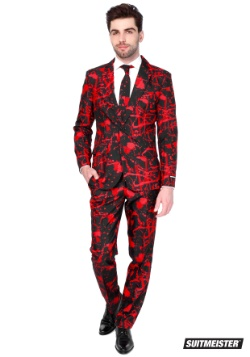 Halloween Blood Mens Suitmiester Suit