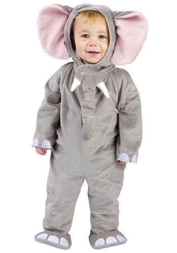 Click Here to buy Baby Elephant Costume from HalloweenCostumes, CDN Funds & Shipping