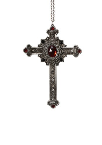 Click Here to buy Gothic Cross Nun Necklace from HalloweenCostumes, CDN Funds & Shipping