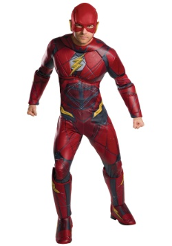 Justice Leauge Adult Deluxe Flash Costume