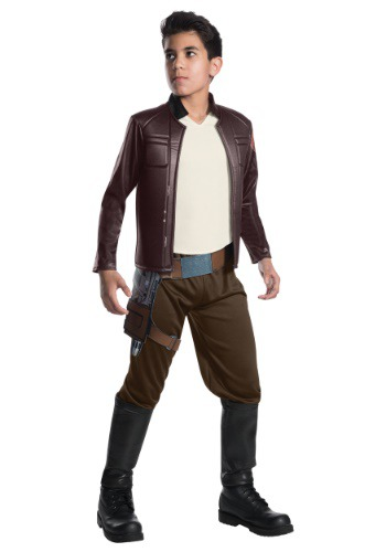 Star Wars The Last Jedi Deluxe Poe Dameron Child Costume