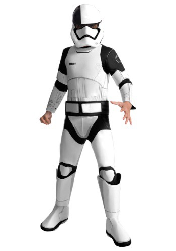 Star Wars The Last Jedi Deluxe Stormtrooper Costume for Kids