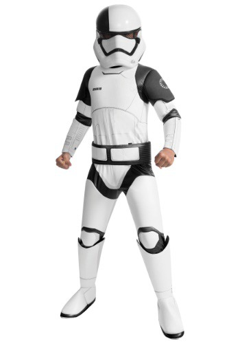 Star Wars The Last Jedi Super Deluxe Stormtrooper Costume for Kids