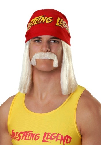 Click Here to buy Wrestling Legend Mens Wig from HalloweenCostumes, CDN Funds & Shipping
