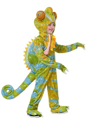 Realistic Chameleon Costume for a Toddler