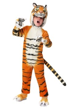 Toddler's Realistic Tiger Costume