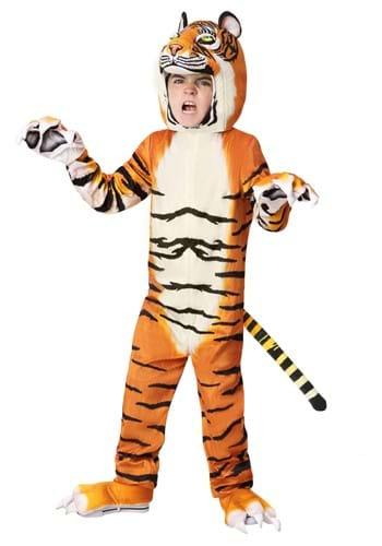 Child Realistic Tiger Costume