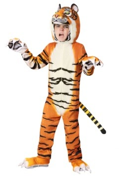 Realistic Tiger Child's Costume