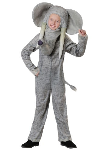 Realistic Elephant Costume for Kids