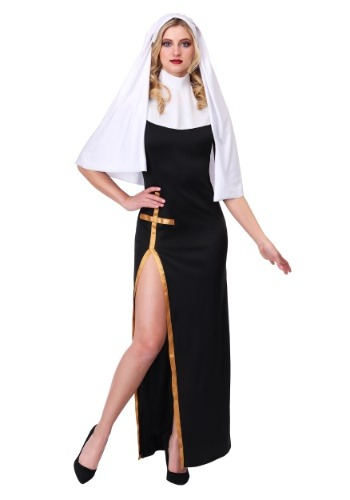 Click Here to buy Womens Holy Nun Costume from HalloweenCostumes, CDN Funds & Shipping