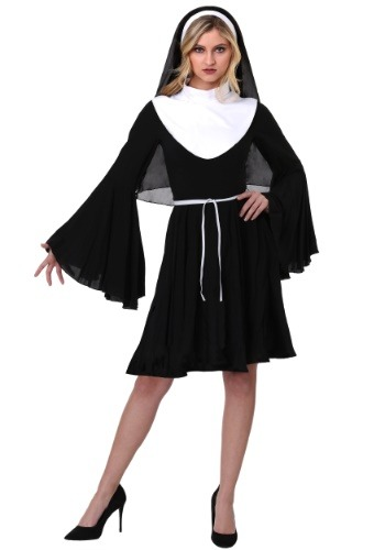 Click Here to buy Sassy Nun Womens Costume from HalloweenCostumes, CDN Funds & Shipping