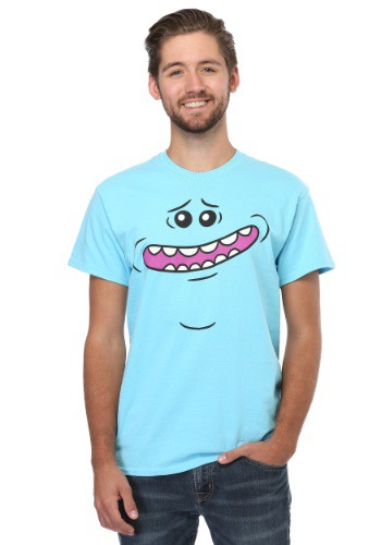 Rick and Morty Meeseeks Face 18/1 Mens T-Shirt