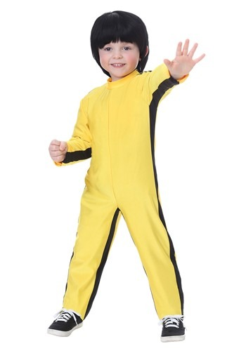 Bruce Lee Costume for a Toddler