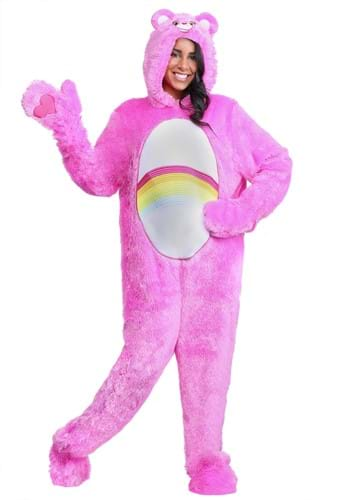 Click Here to buy Plus Size Adult Care Bears Classic Cheer Bear Costume from HalloweenCostumes, CDN Funds & Shipping