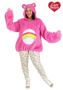 Care Bears Deluxe Cheer Bear Plus Size Hoodie Costume