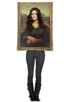 Mona Lisa Adult Costume