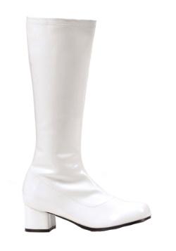 Child White GoGo Boots