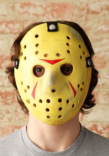 Click Here to buy Jason Mask Friday the 13th Prop Replica from HalloweenCostumes, CDN Funds & Shipping