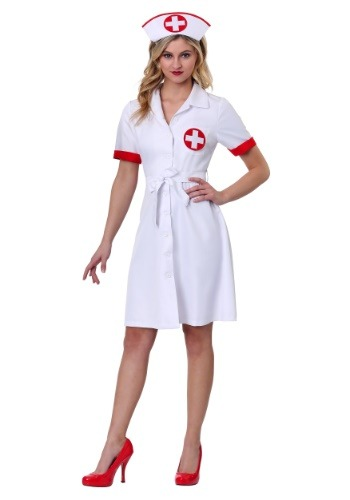Stitch Me Up Nurse Costume for Women