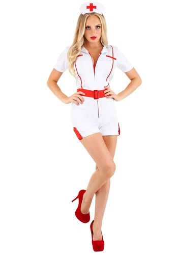Click Here to buy Womens Love Shot Nurse Costume from HalloweenCostumes, CDN Funds & Shipping