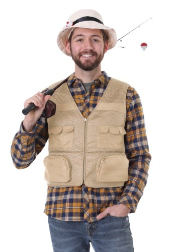 Click Here to buy Fisherman Kit Mens Costume from HalloweenCostumes, CDN Funds & Shipping